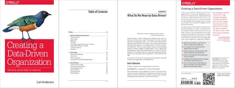 book cover Data-Driven Organization