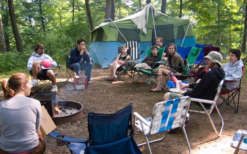 Circle Up around the campfire