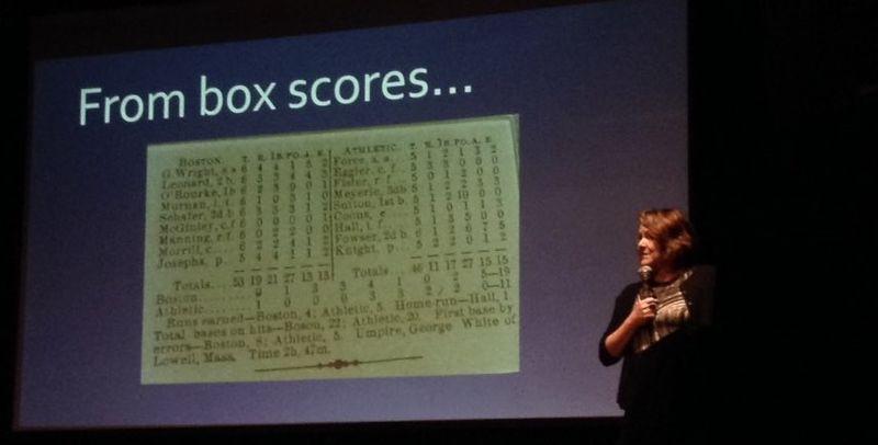 Tracy Altman Nerd Nite baseball analytics talk