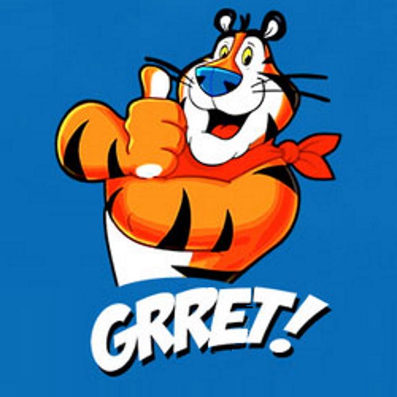 Tony Tiger GRRET