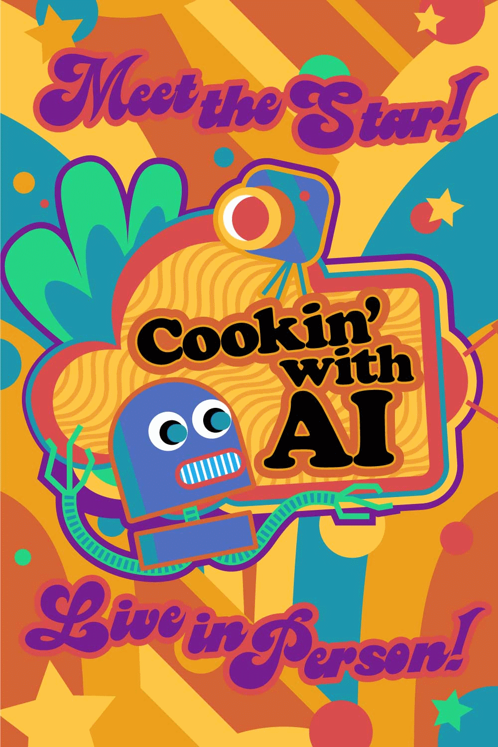 Cookin' with AI poster